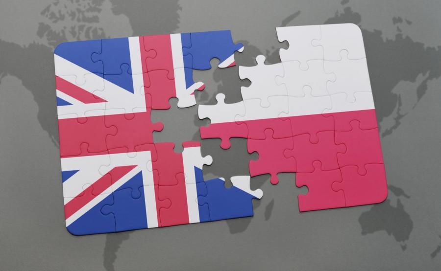 Relacje polsko - brytyjskie, zdjęcie ilustracyjne.