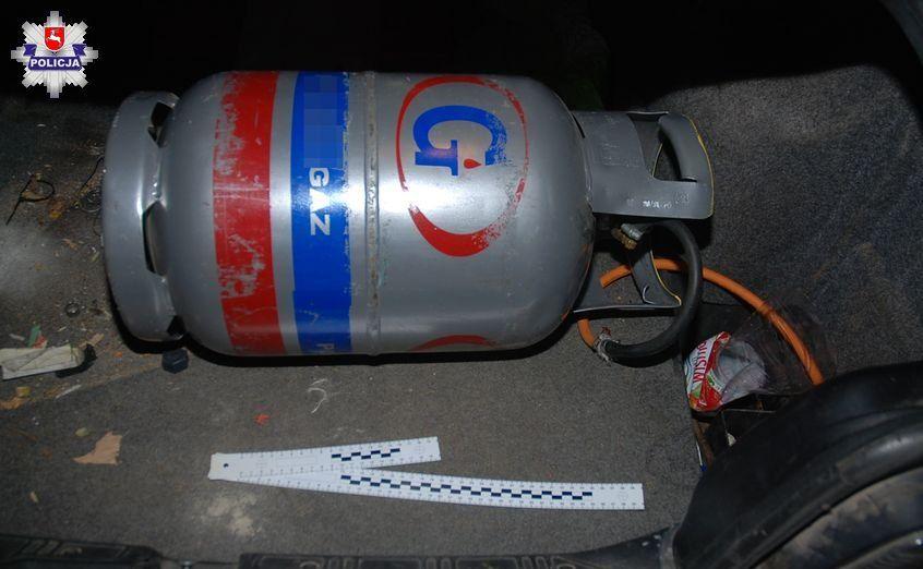 BMW zasilał z butli gazowej podobnej do tej używanej w domu (czy do zasilania wózków widłowych)