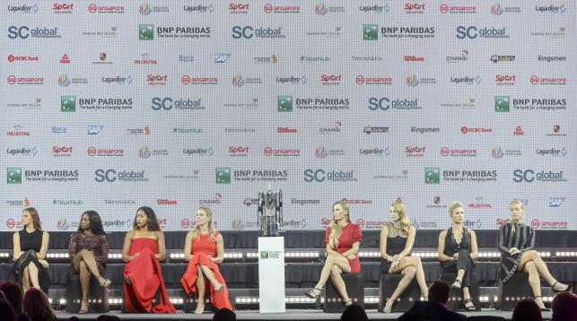 Karolina Pliskova, Sloane Stephens, Naomi Osaka, Angelique Kerber, Caroline Wozniacki, Petra Kvitova, Elina Svitolina i Kiki Bertens