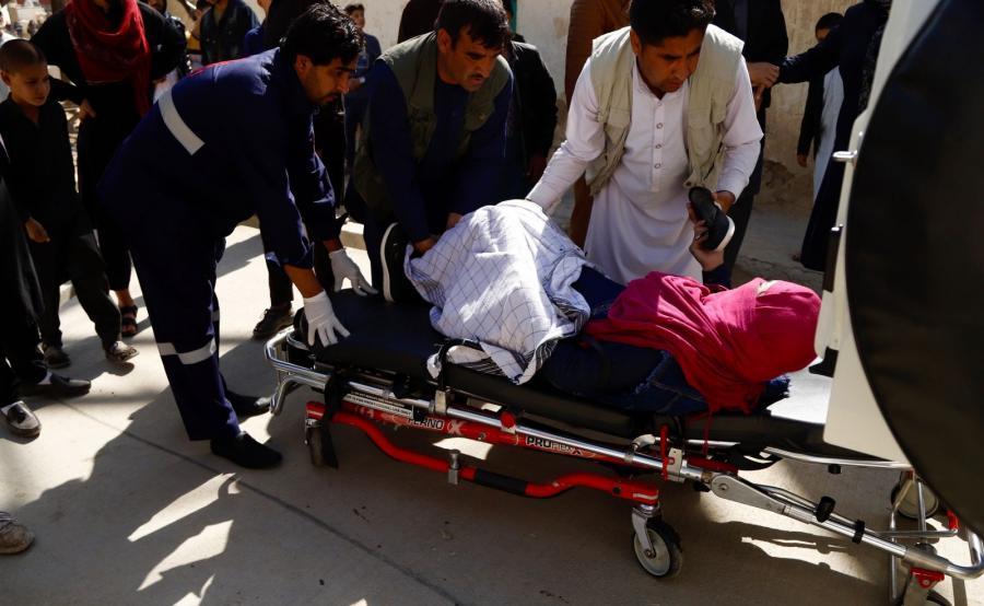 Ranni w wyniku eksplozji w Kabulu