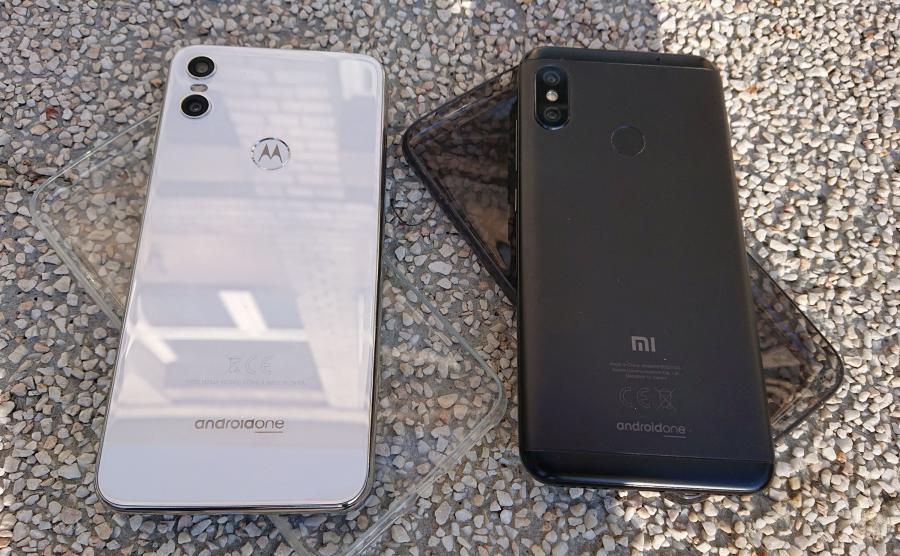 Motorola One i Xiaomi Mi A2 Lite