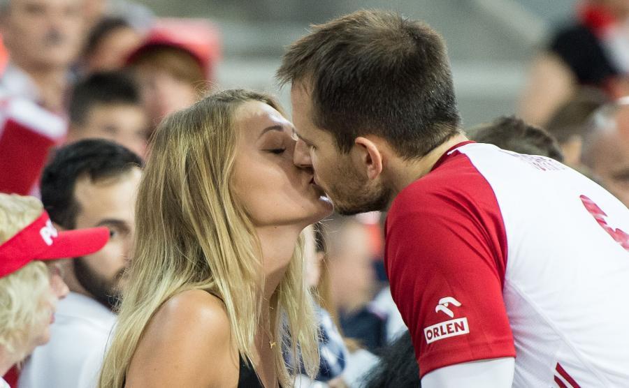 Bartosz Kurek i jego dziewczyna