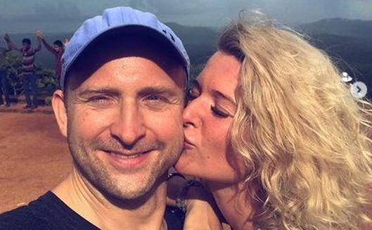 Borys Szyc zabrał ukochaną na bajkowe wakacje: Jak dobrze z Nią podróżować... [FOTO]