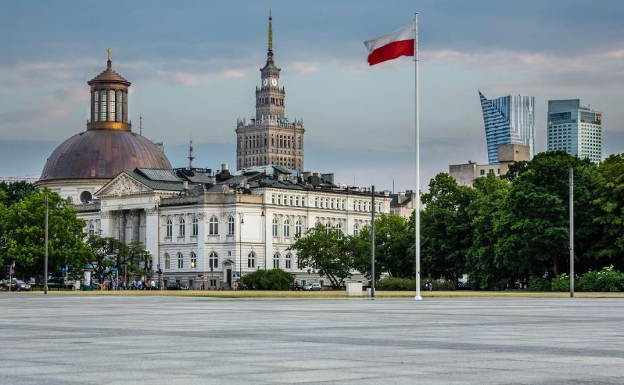 Pl. Piłsudskiego w Warszawie