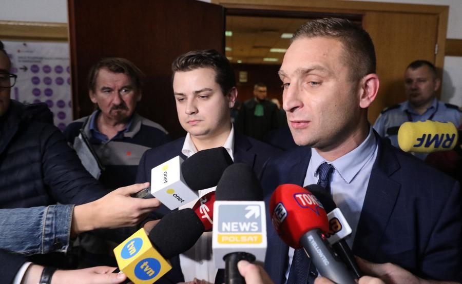 Mazowiecki koordynator ONR, prezes stowarzyszenia Marsz Niepodległości Robert Bąkiewicz