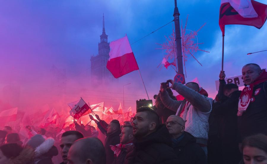 Marsz Niepodległości w 2017