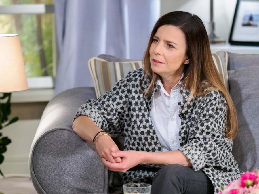Agata Kulesza w programie \