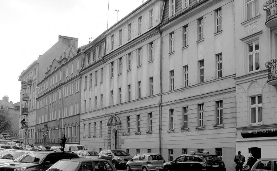 Kamienica w Poznaniu, w której w czasie wojny mieścił się dom publiczny fot. J.Ostrowska