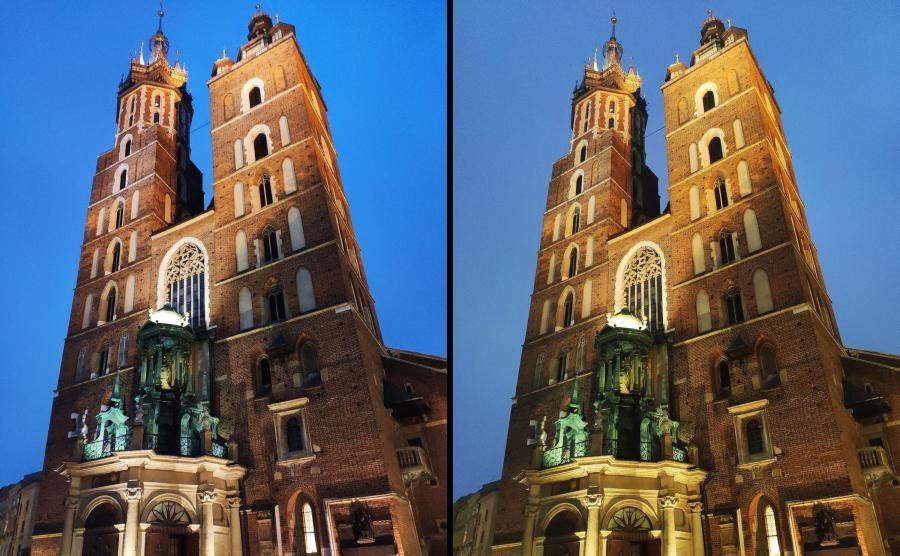 Zdjęcia z telefonów Mi 8 i Mi 8 Pro