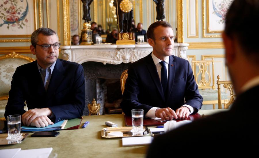 Edouard Philippe i Emmanuel Macron