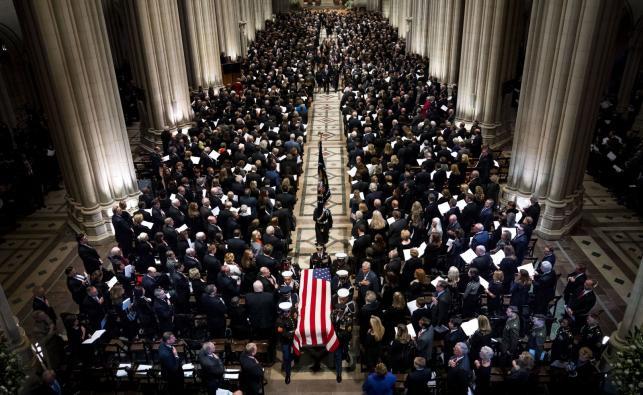 Uroczystości pogrzebowe George'a H.W. Busha