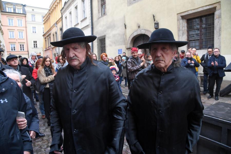 Bracia Janiccy jako Dwóch Chasydów