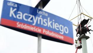 Ulica Lecha Kaczyńskiego w Warszawie