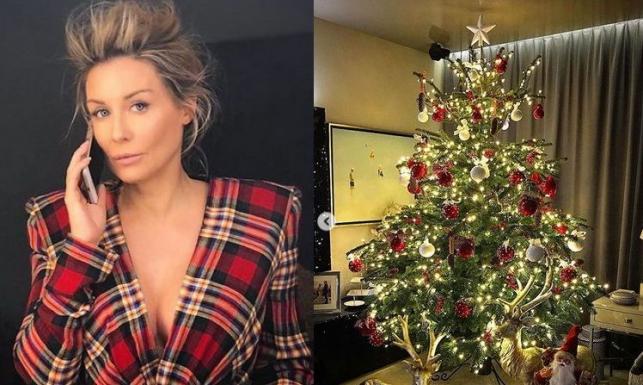 Małgorzata Rozenek udekorowała dom na święta. Jej choinka przystrojona jest perfekcyjnie [FOTO]