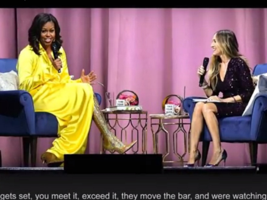 Michelle Obama i Sarah Jessica Parker