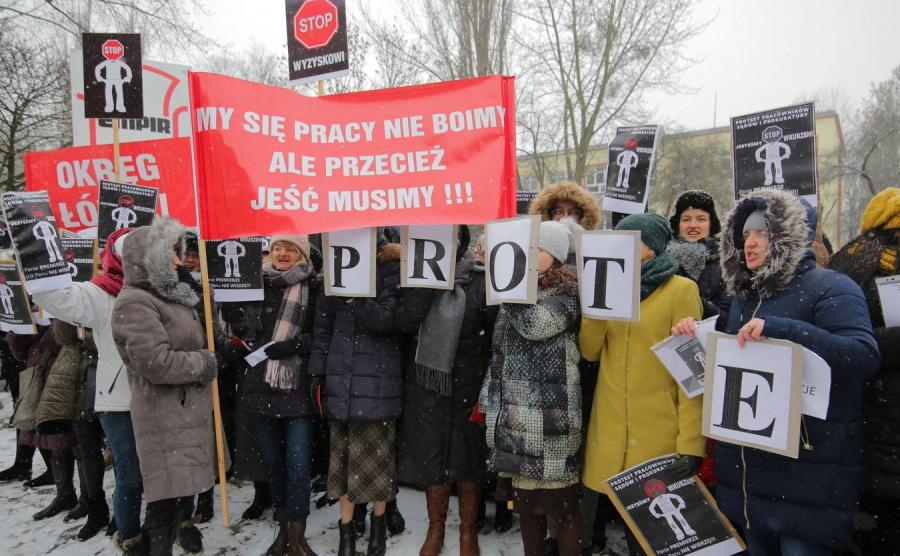 Protest pracowników prokuratury