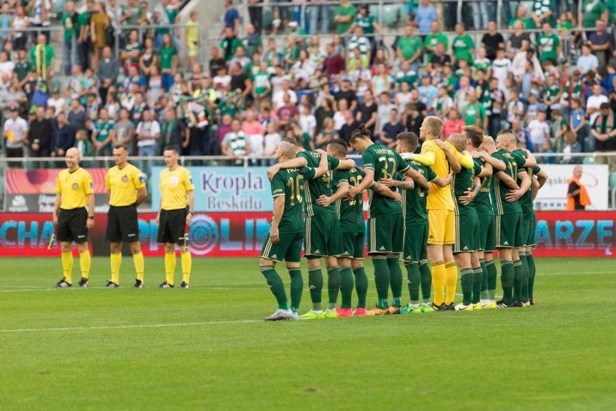 Minuta ciszy przed meczami Ekstraklasy