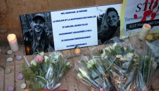 Hołd dla zamordowanych turystek