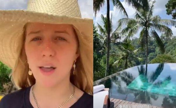 Jessica Mercedes na Bali