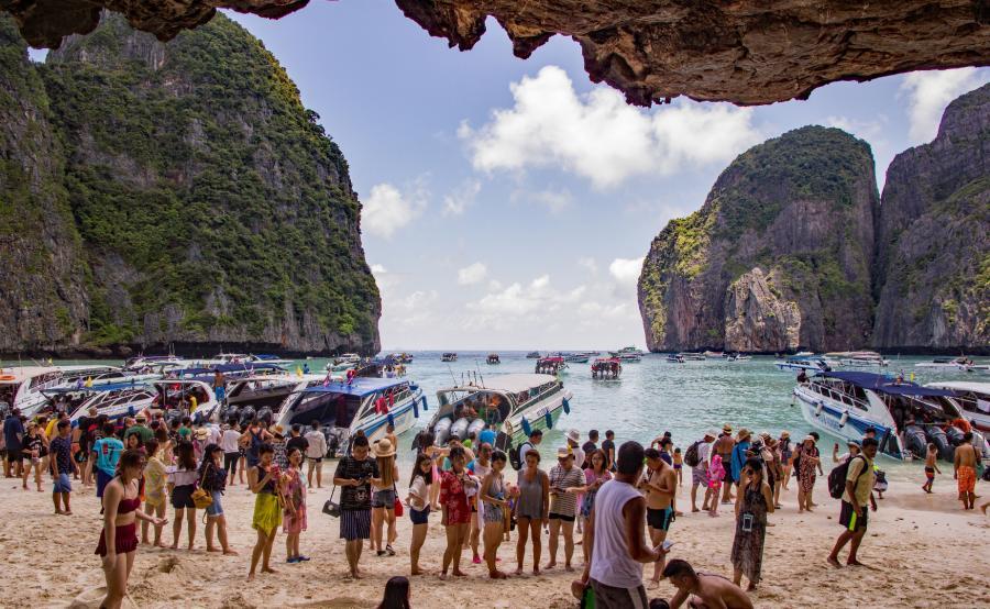 Maya Bay, Tajlandia, miejsce 9