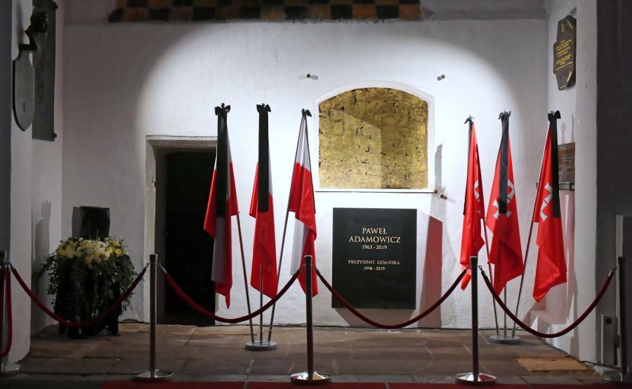 Miejsce, gdzie zostanie pochowana urna z prochami prezydenta Gdańska Pawła Adamowicza, w kaplicy świętego Marcina w Bazylice Mariackiej
