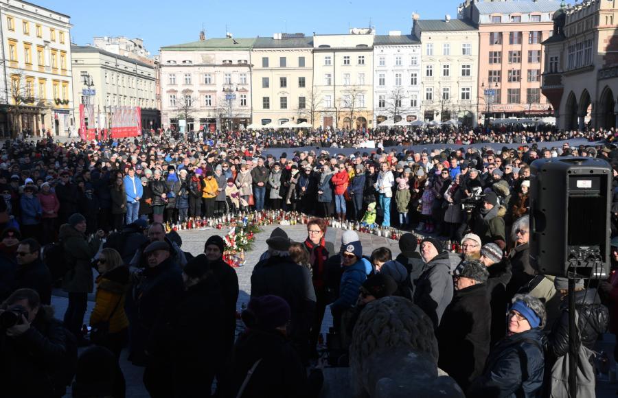 Kraków żegna prezydenta Gdańska