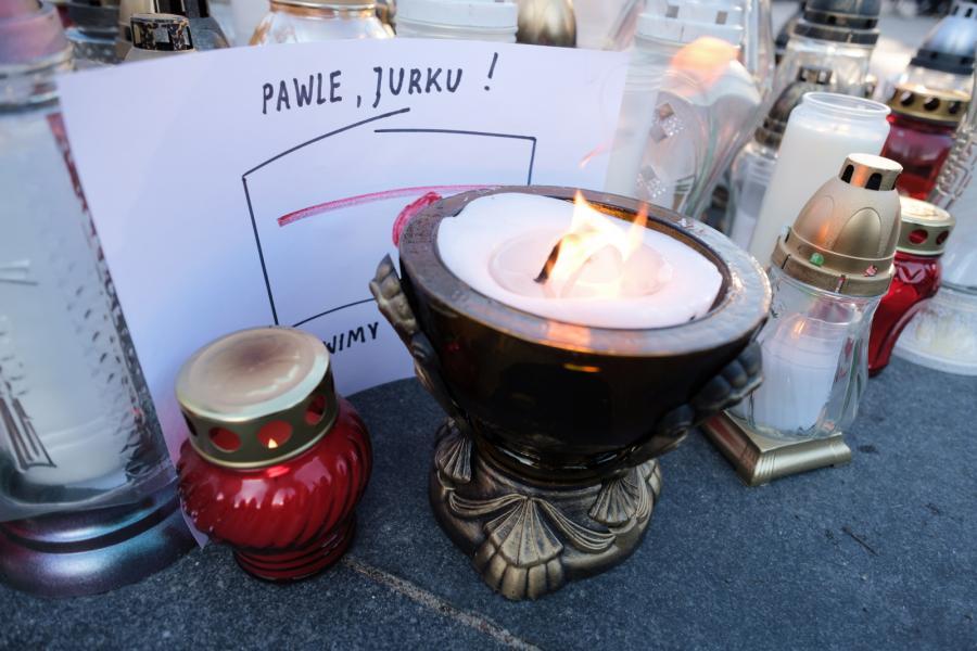 Pożegnanie prezydenta Pawła Adamowicza w Poznaniu
