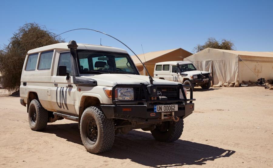 Siły ONZ w Mali