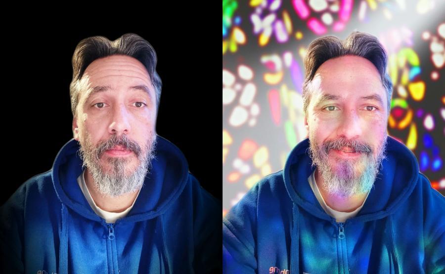 Zdjęcia selfie zrobione Honorem View 20