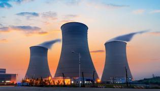 Elektrownia atomowa - zdjęcie ilustracyjne