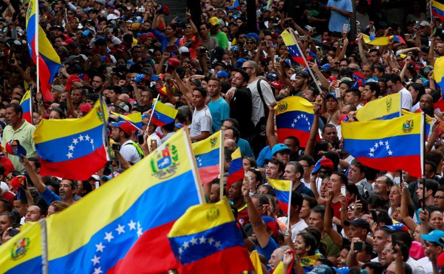 Antyrządowa demonstracja w Wenezueli