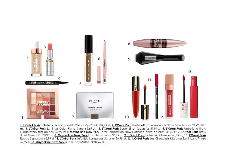 Kosmetyki do zimowego makijażu