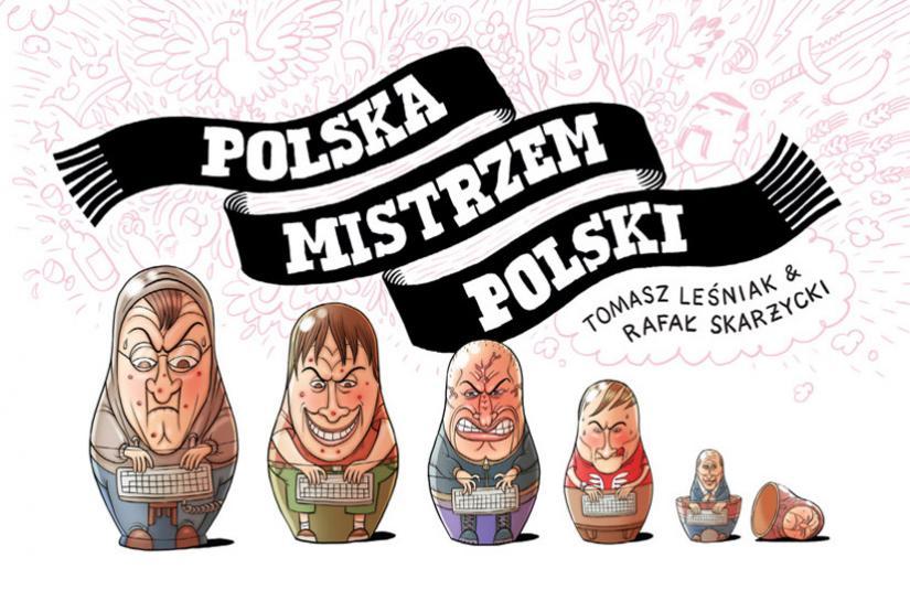 """""""Polska mistrzem Polski"""" - okładka"""