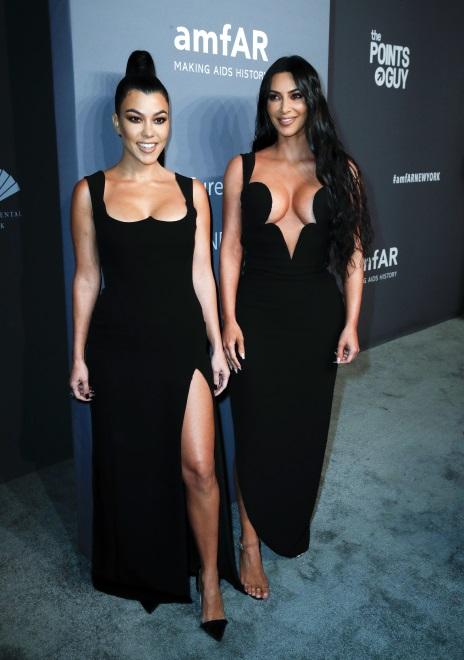 Kourtney Kardashian i Kim Kardashian