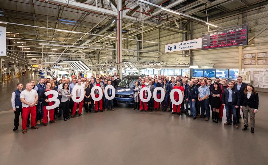 Volkswagen Caddy - montaż końcowy