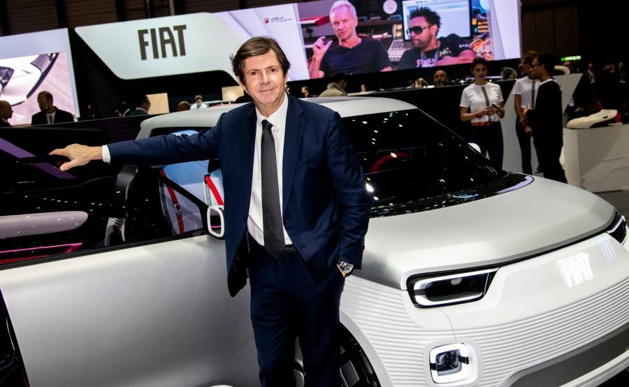 Olivier Francois, szef Fiata i prototyp Centoventi