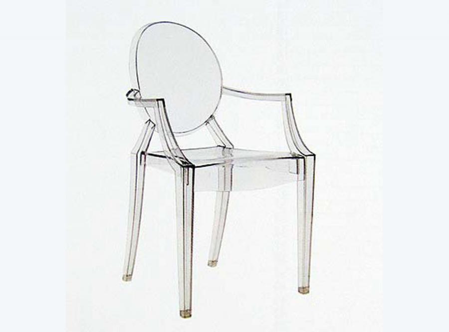 Ludwik XV-ty jako krzesło duch