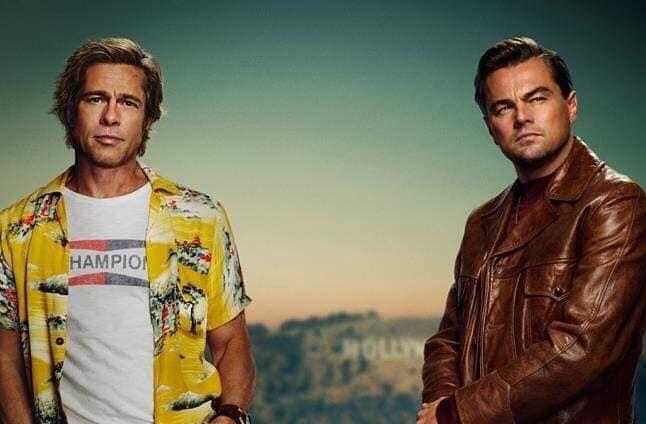 "Brad Pitt i Leonardo Di Caprio w filmie ""One Upon a Time in Hollywood"""