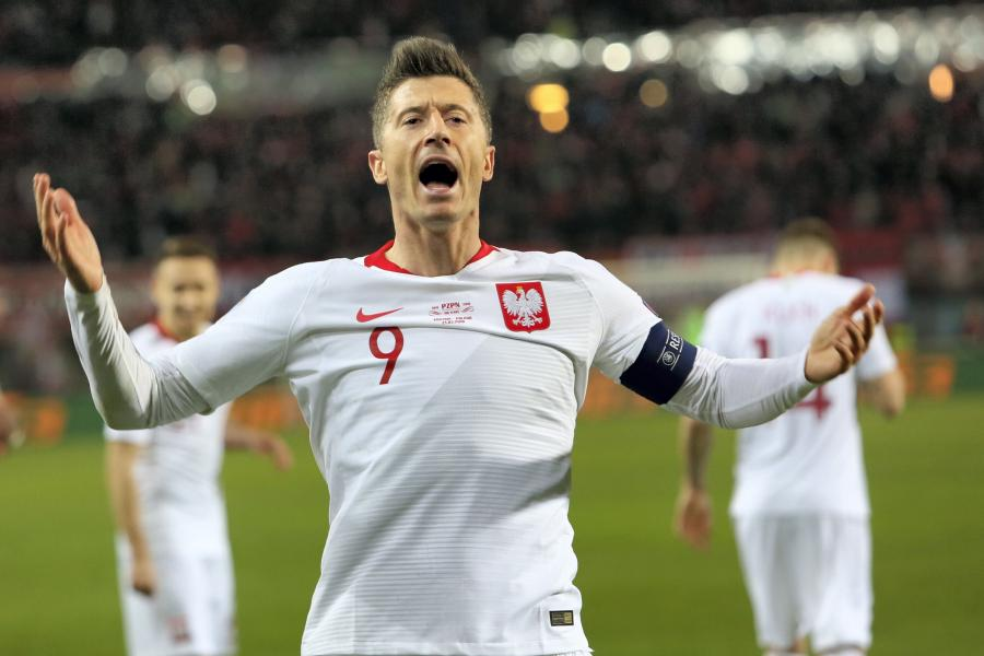 Kapitan reprezentacji Polski Robert Lewandowski