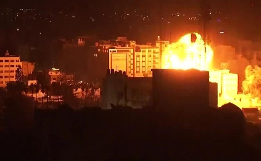 Eksplozja w Gazie