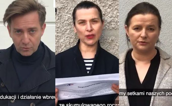 Paweł Królikowski, Katarzyna Herman, Jowita Budnik