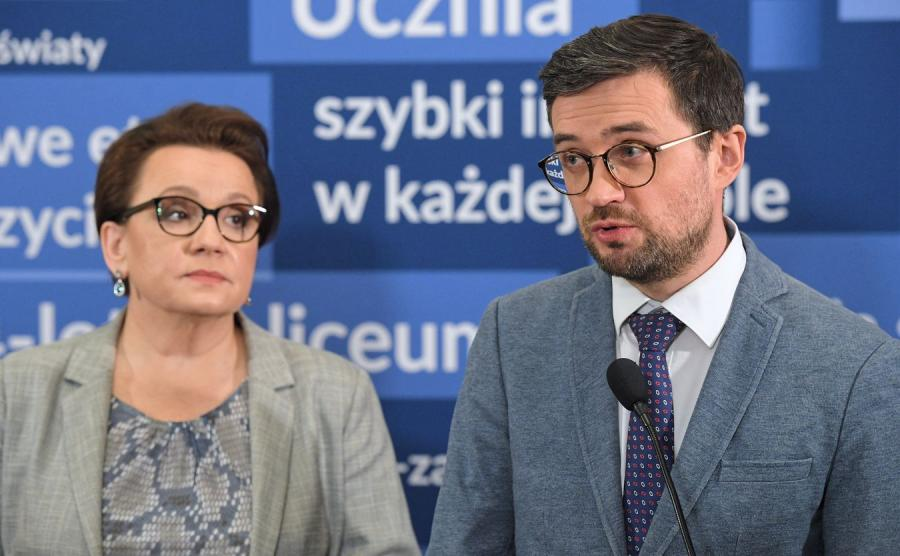 Marcin Smolik i Anna Zalewska