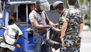 Kontrole po zamachach na Sri Lance