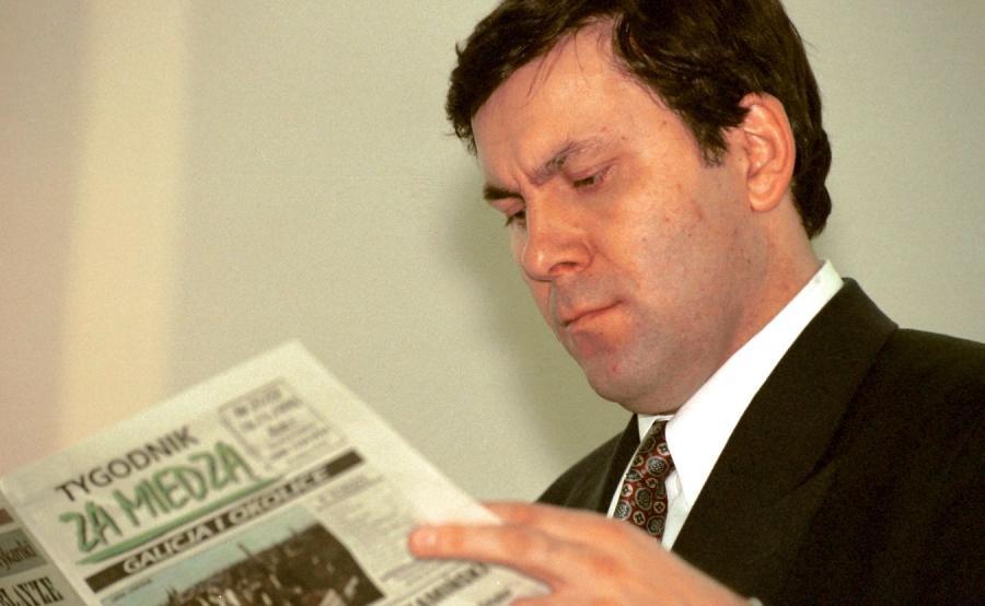 Janusz Piechociński w Sejmie, 1995 r.