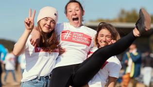 Młodzi sportowcy w akcji #SportPrzeciwHomofobii / Jacek Kwiatkowski