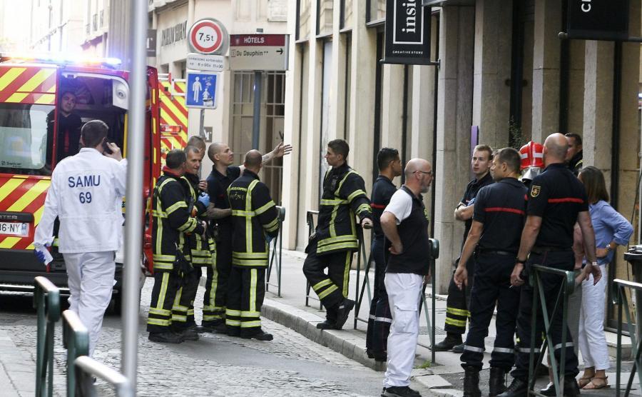 Zamach w Lyonie