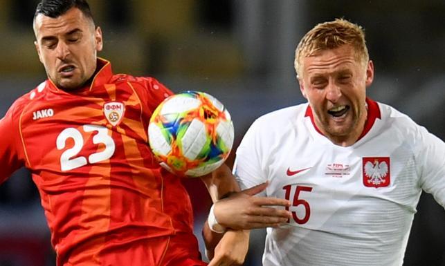 Zwycięstwo rodziło się w bólach. Biało-czerwoni w Skopje nie zachwycili [FOTO]