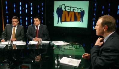 """Jacek Kurski w programie """"Teraz MY"""" zaatakował telewizję TVN24"""