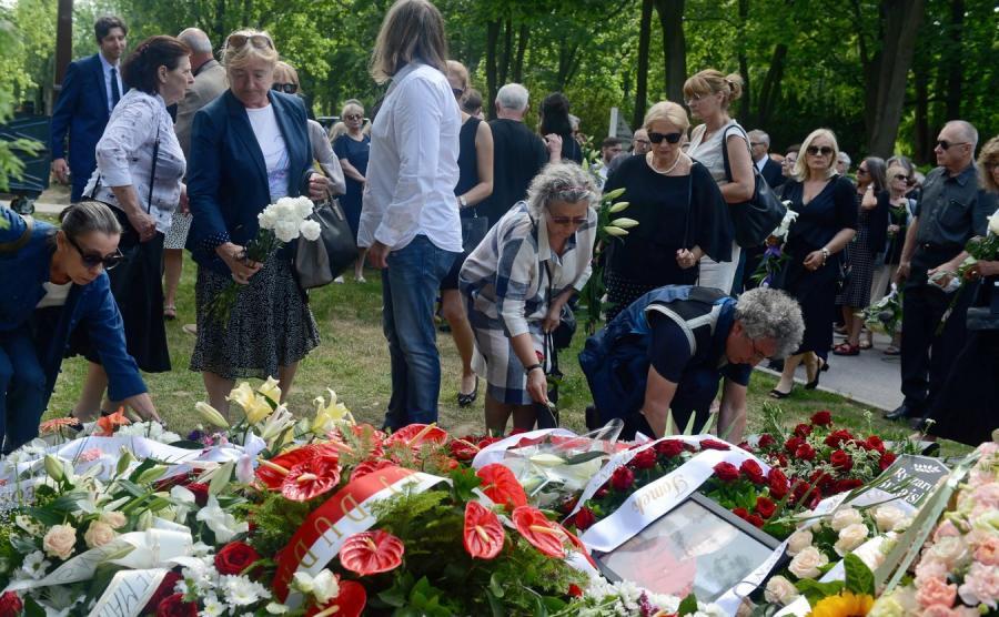pogrzeb reżysera Bugajskiego