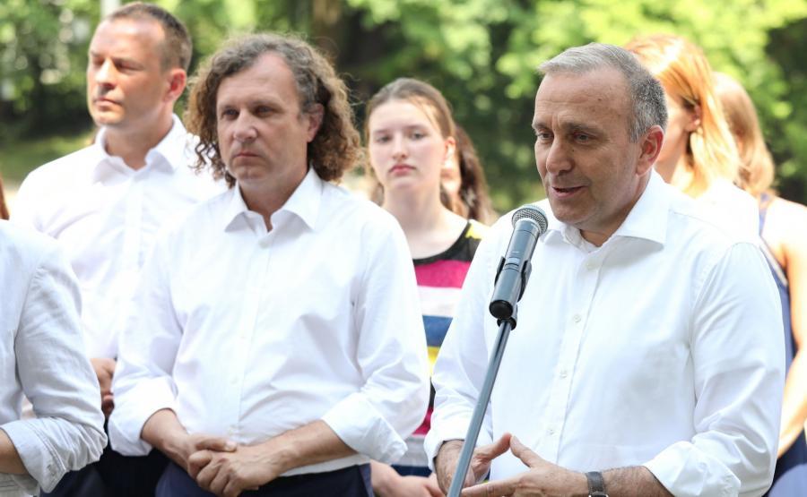 Jacek Karnowski i Grzegorz Schetyna